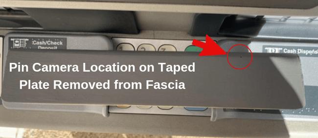 pin camera taped fascia